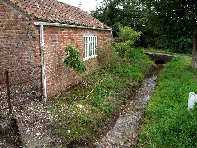 Brook at Moorby