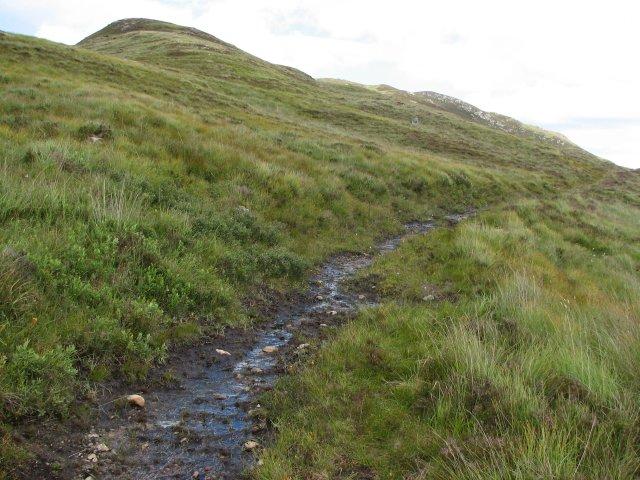 Path, skirting Leagag