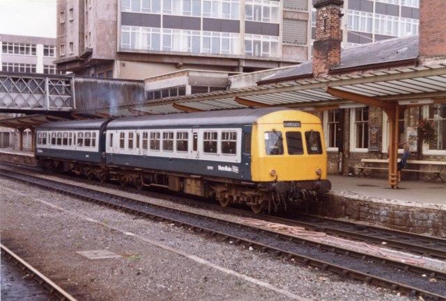 Harrogate Railway Station, 1983