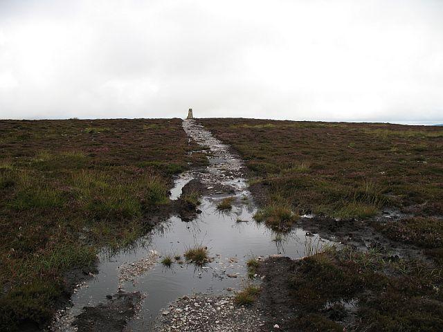 Trig point, Balloch Hill