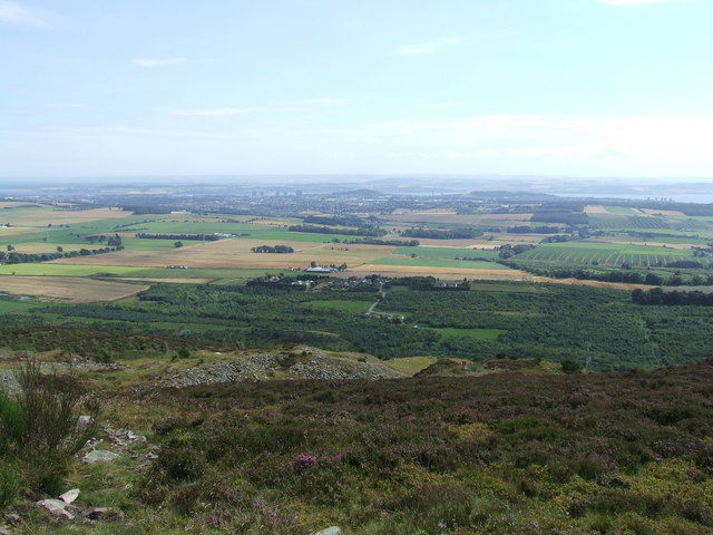 South from Balluderon Hill