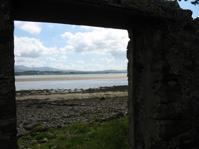 The Menai Straits from the Beach Entrance of Plas Penrhyn