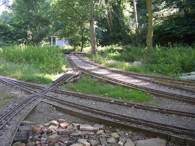 Miniature Railway, Northcliffe Woods, Shipley