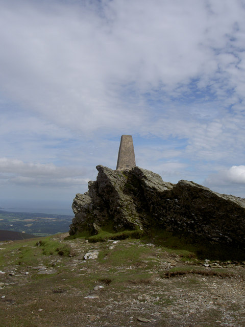 Djouce Mountain Summit.
