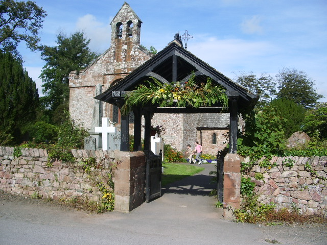 Lychgate, St Michael and All Angels Church, Muncaster