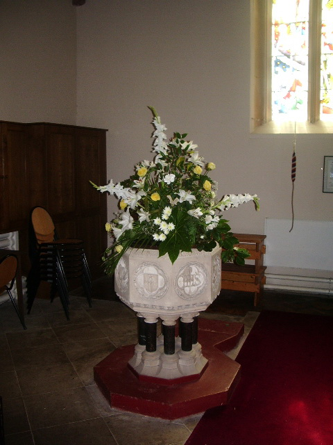 Font, St Michael and All Angels Church, Muncaster