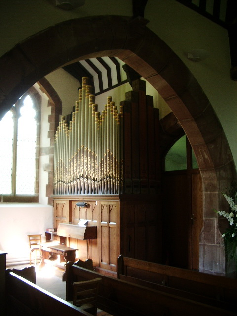 Organ, St Michael and All Angels Church, Muncaster