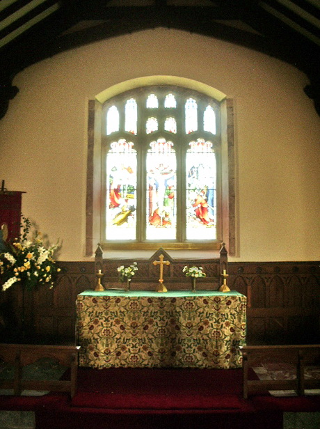 Altar, St Michael and All Angels Church, Muncaster