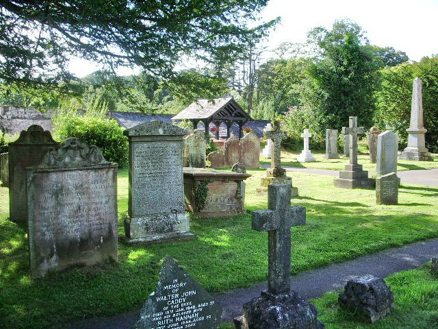 Graveyard, St Michael and All Angels Church, Muncaster