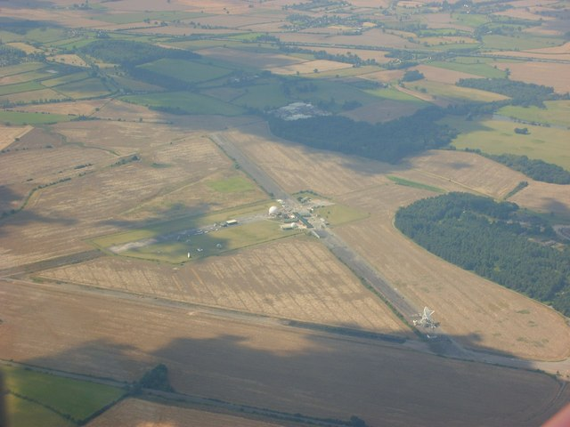 Defford Airfield from 2500 feet