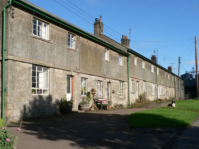 Row of Farm Cottages