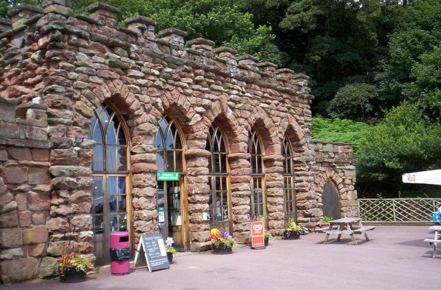 Hawkstone Park entrance