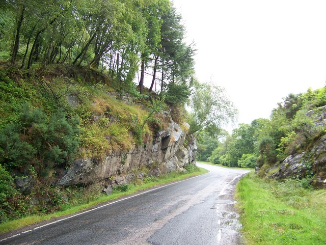 The A8003 from Tighnabruaich at Lochead