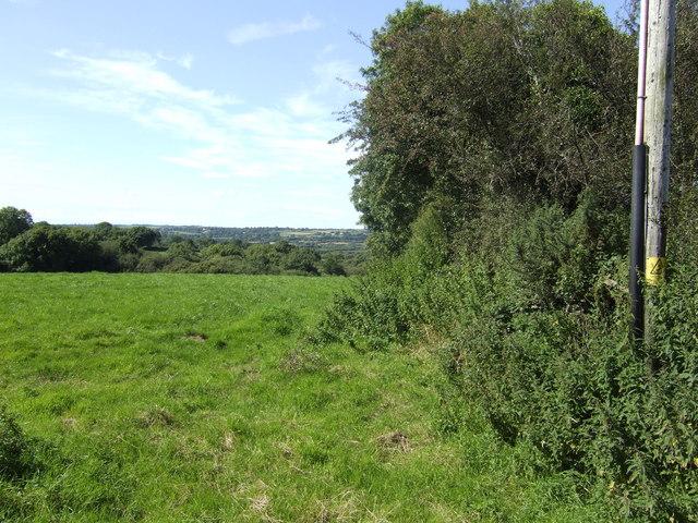 Fields west of Pentlepoir