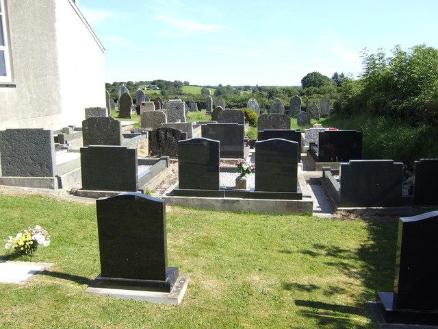 Gravestones at the Ebenezer chapel