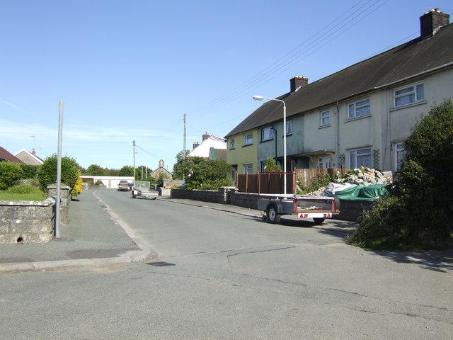 Council houses, Jameston