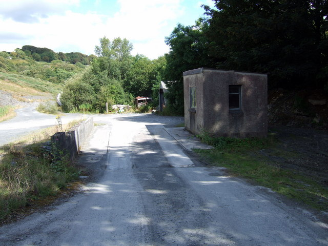 Weighbridge at Glogue quarry