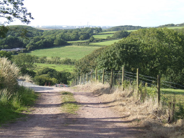 View north of St. Twynnells