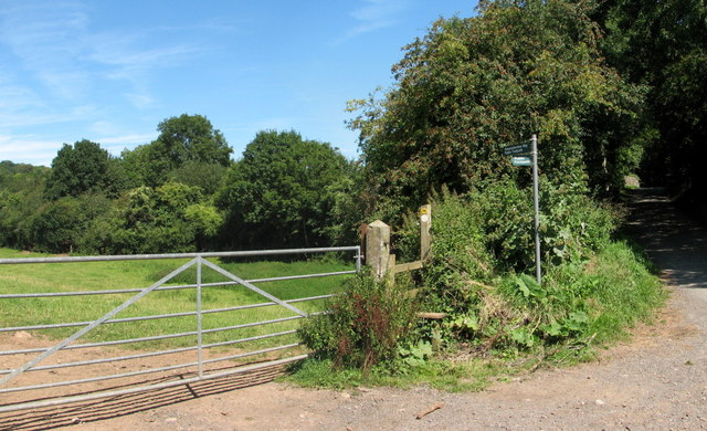 Stile on the Gloucestershire Way