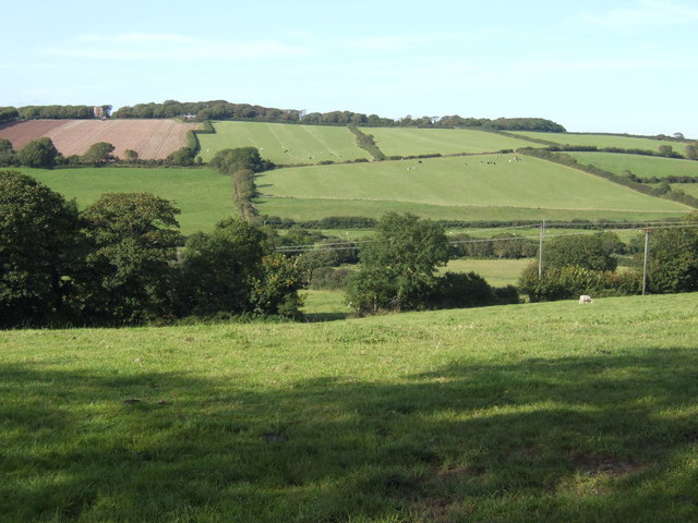 Countryside north of St. Twynnells