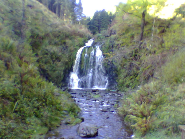 Wolfcleugh Waterfall