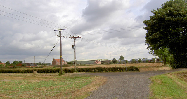 Bridleway junction.