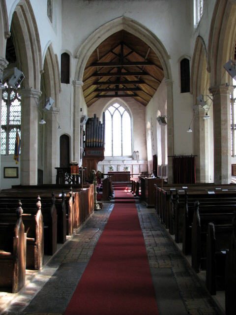 St Mary Magdalen - view east