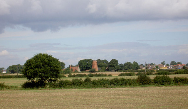 Lings windmill disused.
