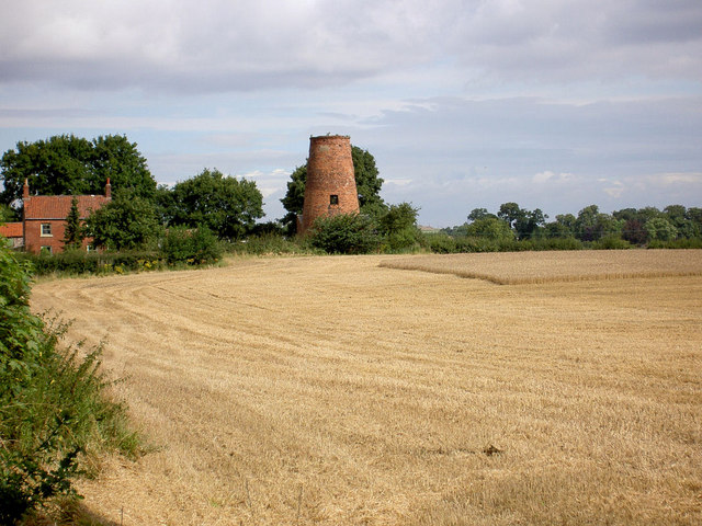 Disused Lings windmill.