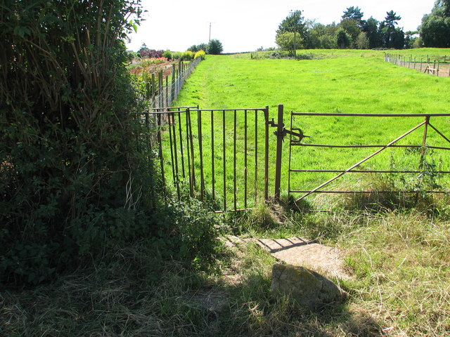 Kissing Gate on the Gloucestershire Way
