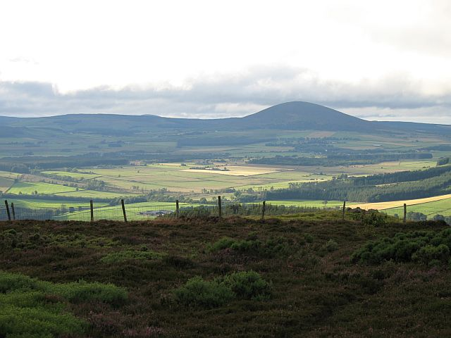 Knock Hill from the Fourman