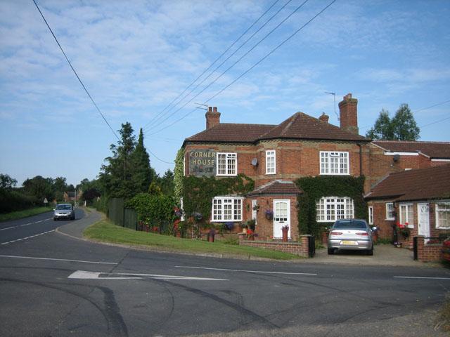 Corner House near Vale Farm