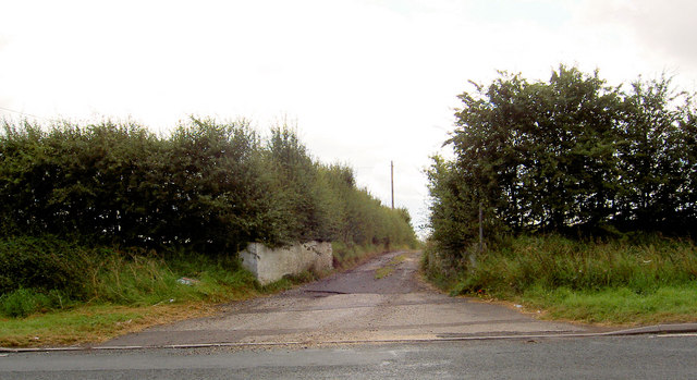 Entrance off the A635 to Cranford Hall.