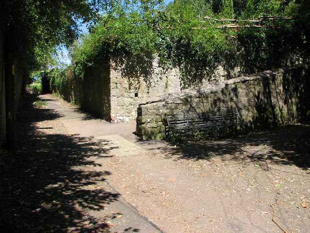 Footpaths on Chepstow Old Hill