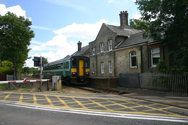 Old station at Six Mile Bottom