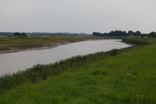 View down Fen Rivers Way