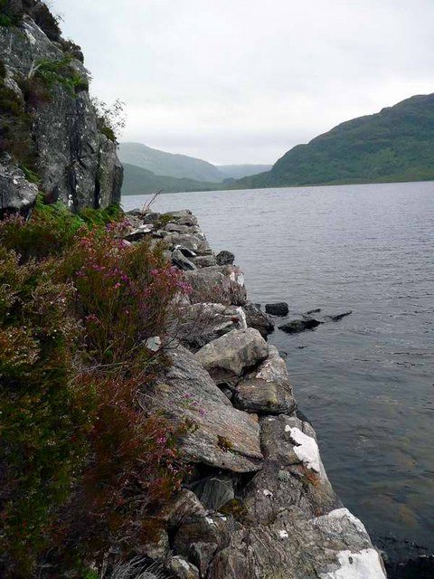 The Loch Morar Corniche
