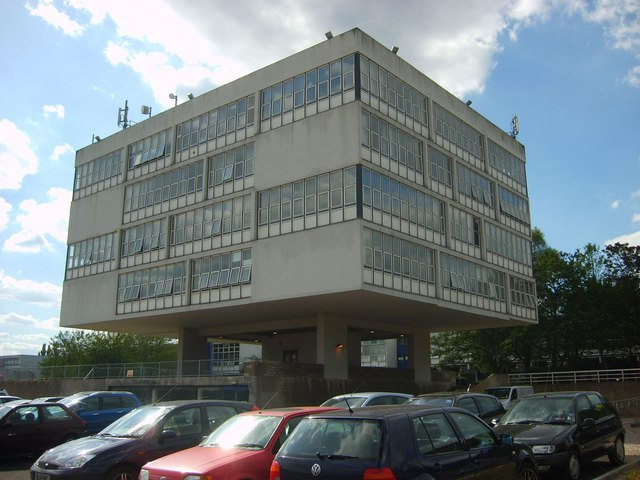 Teaching Block at the former West Midlands College of Higher Education
