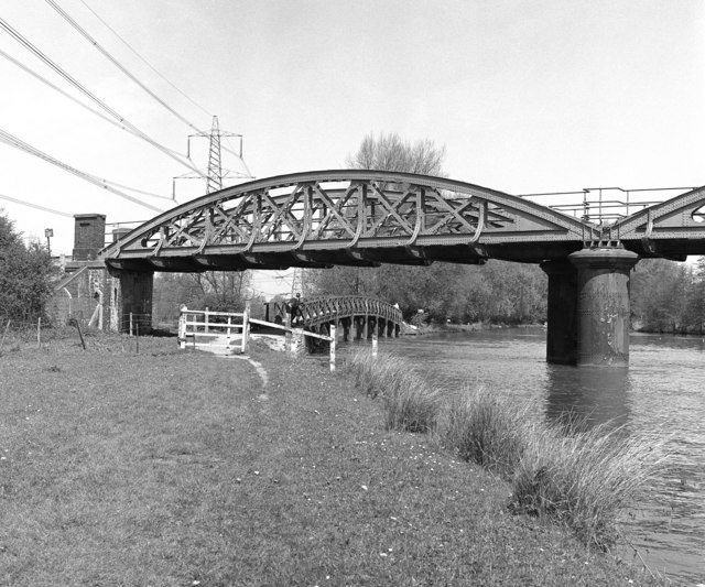 Footbridge over Hinksey Stream, Oxford