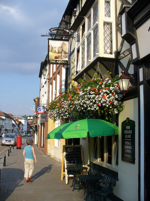 The Argyll, Henley Market Place
