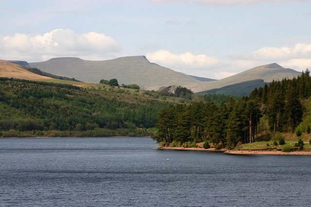 Pontsticill Reservoir and Pen y Fan