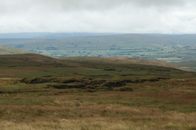 Looking Towards Hawes from Great ShunnerFell.