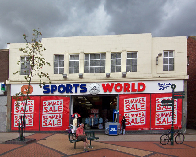 Sports World, High Street, Scunthorpe