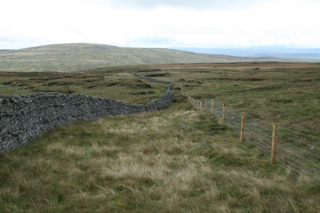 Dry Stone Wall and Fence on Stony Hill.