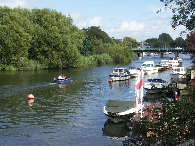 River Stour at Tuckton