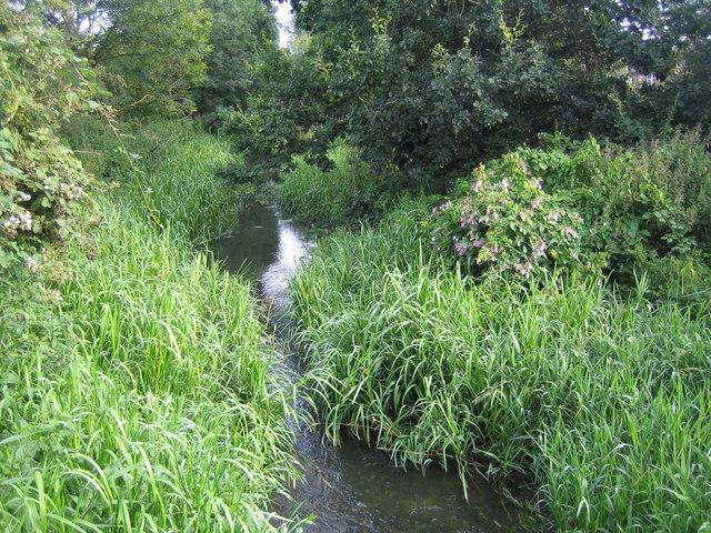 River Ver near Colney Street