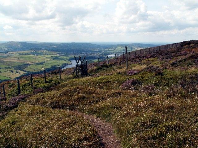 The Footpath to Didsbury Intake