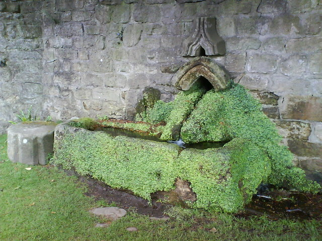 Horse Trough, Fountains Hall