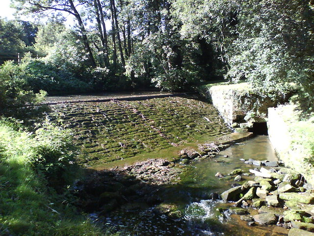 West Gate Weir, River Skell