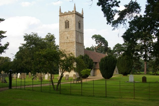 St Mary's church, Stradsett